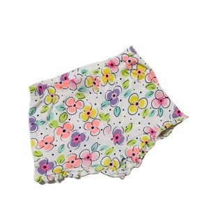 Garanimals Flower Print with Ruffles Shorts 0-3mo